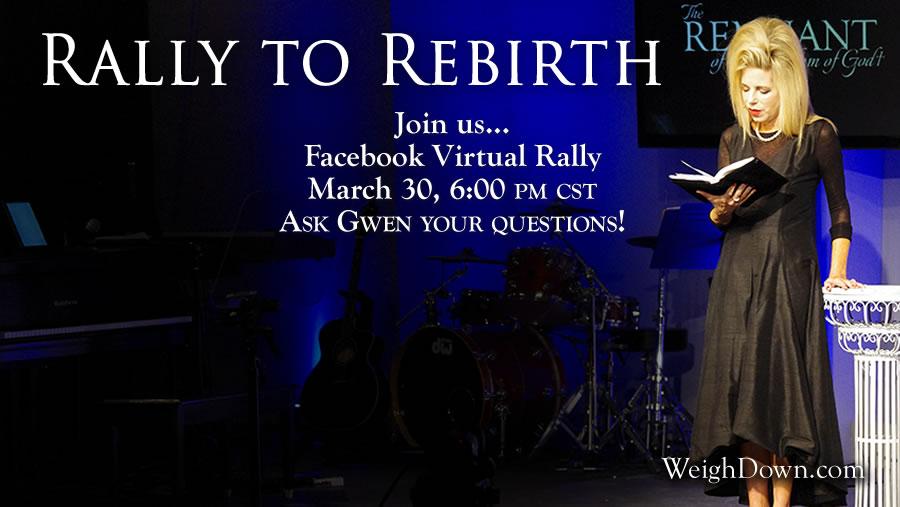 Weigh Down Ministries Virtual Rally
